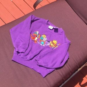 A purple kids sweatshirt